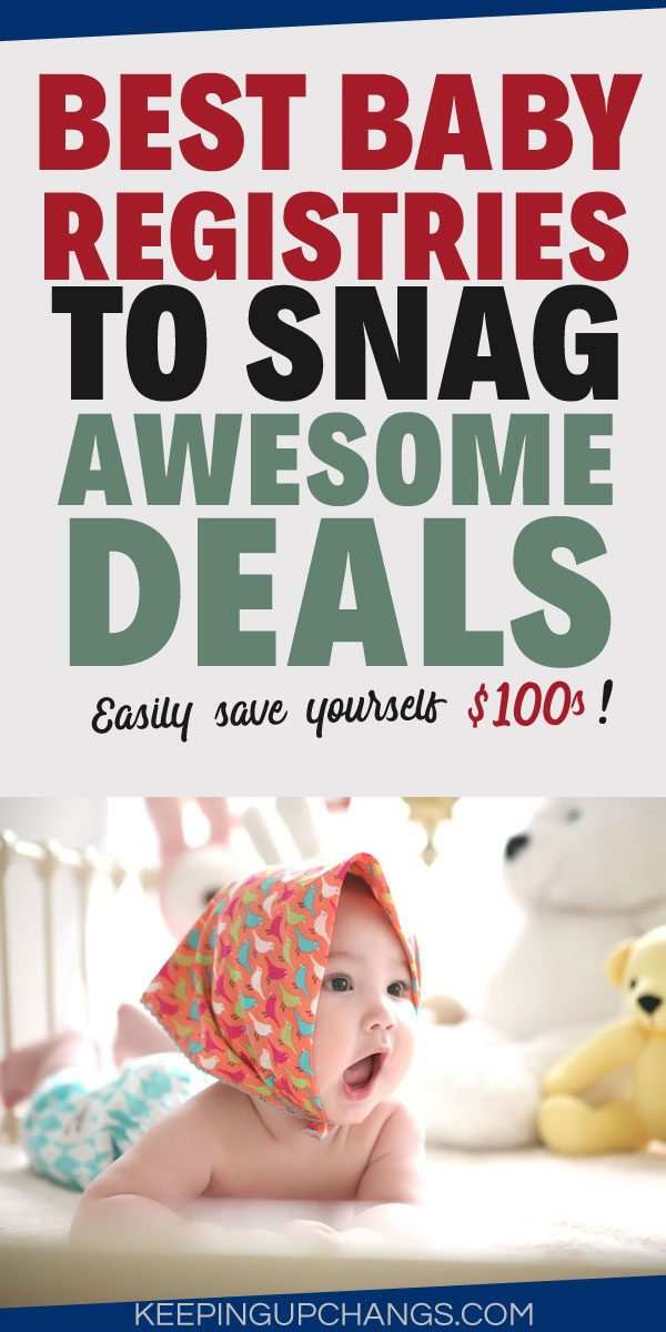 best baby registries list to save money and get best deals