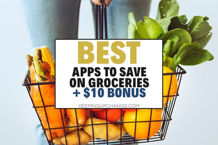best apps to save money on groceries with $10 bonus