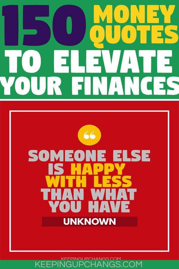 money quotes to elevate your finances