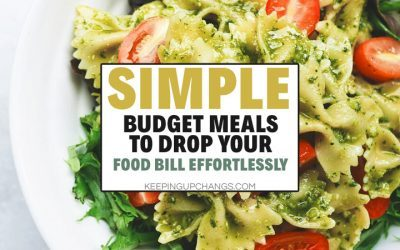 Budget Meals: Cheapest Meal Prep Ideas that are Healthy