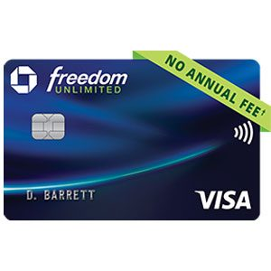 chase freedom unlimited credit card logo