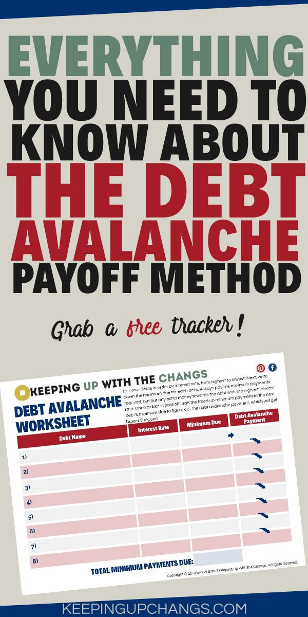 everything you need to know about debt avalanche