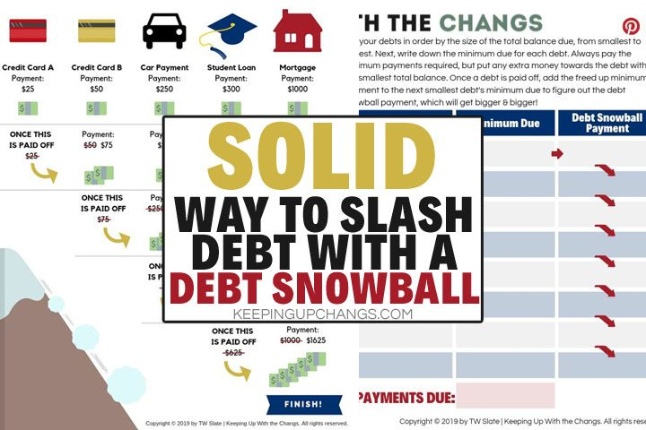 how does debt snowball method work? solid way to pay down debt