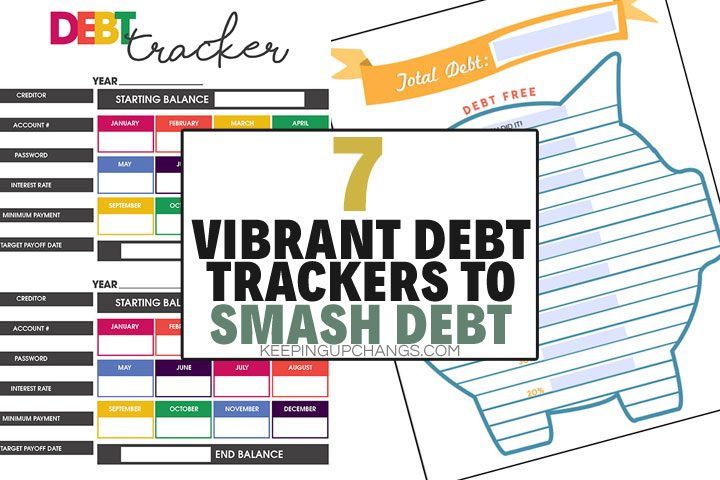 vibrant debt trackers to smash debt