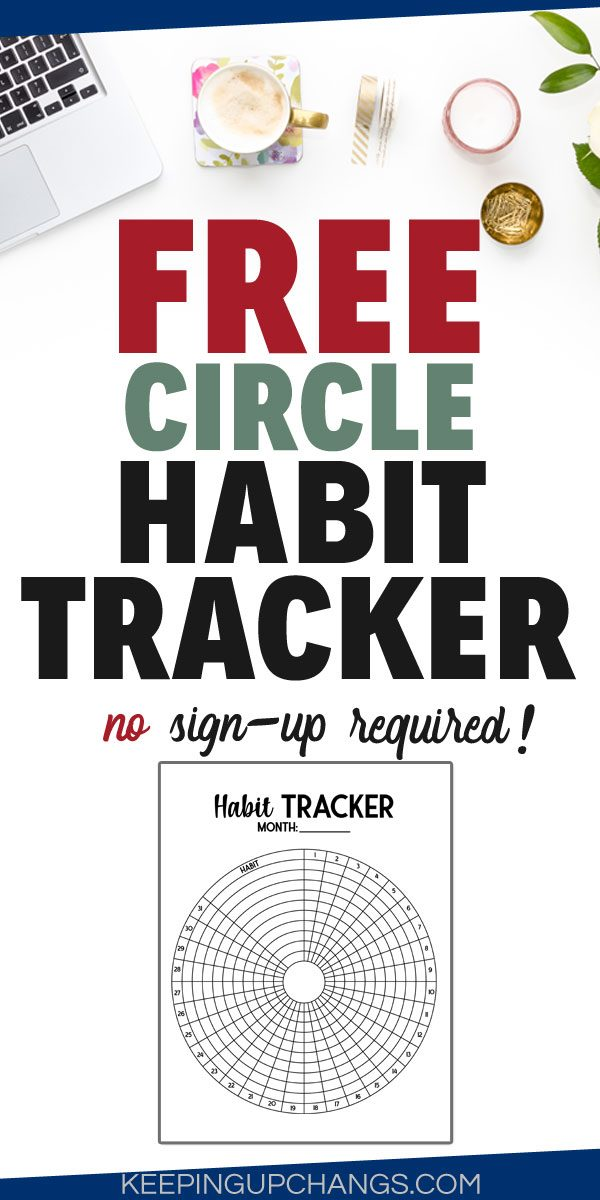 free circle habit tracker no sign up required