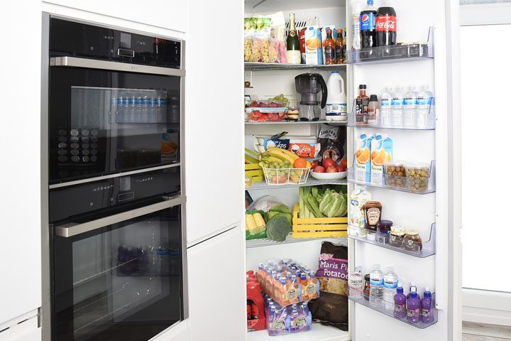 stocked pantry inventory