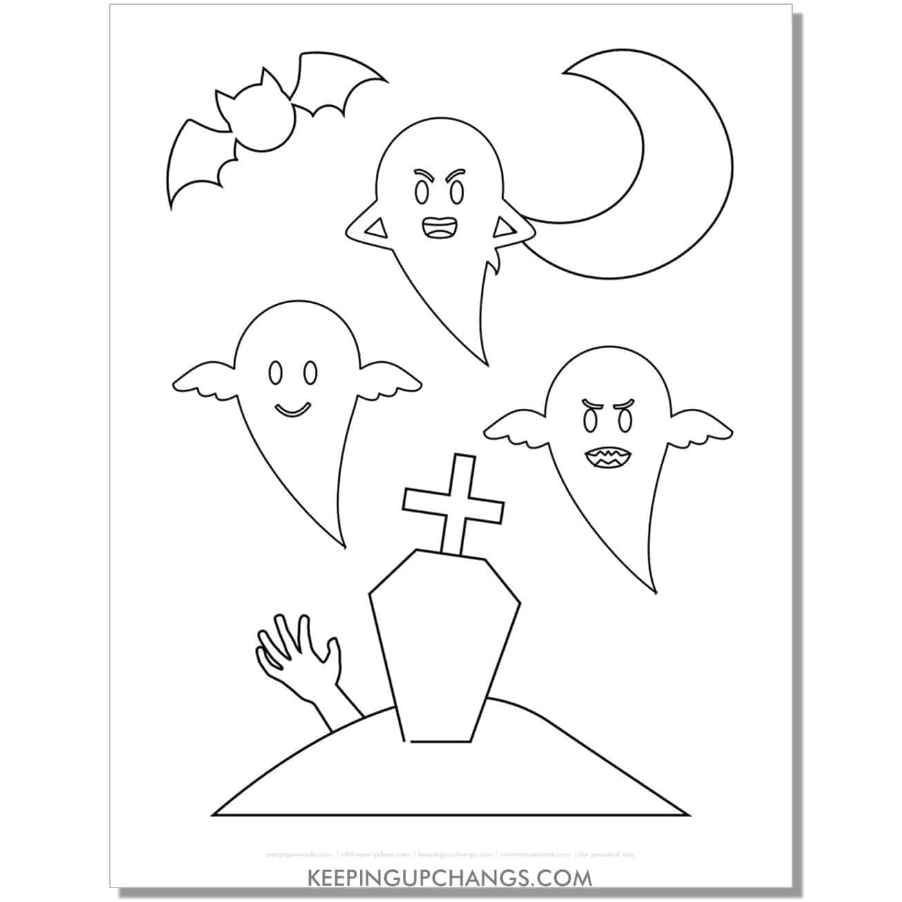 free luigi's mansion ghost face coloring page.