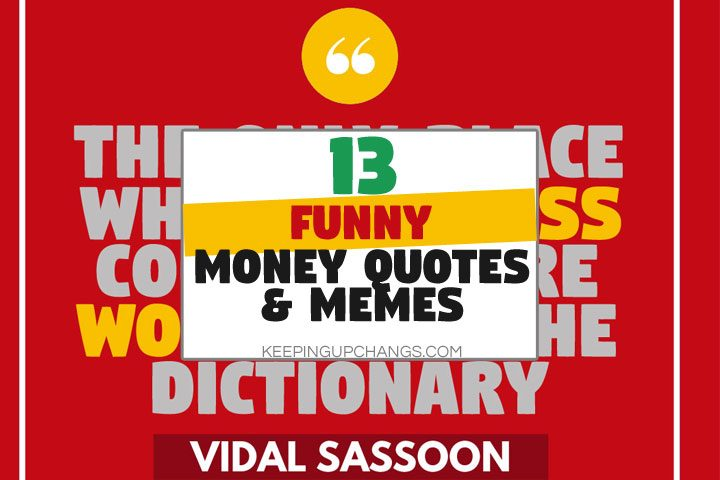 funny money quotes and memes