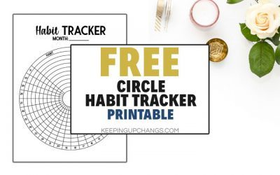 Habit Tracker: How to Use One + Free Printable