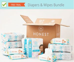 free baby stuff - diapers wipes
