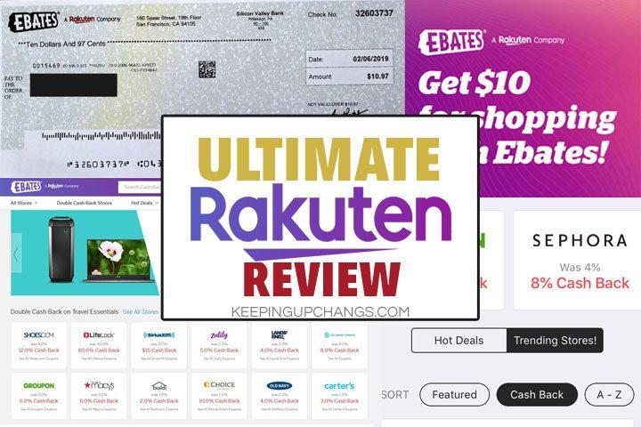 legit rakuten ebates cashback check, claim $10 welcome bonus, rakuten ebates app homepage