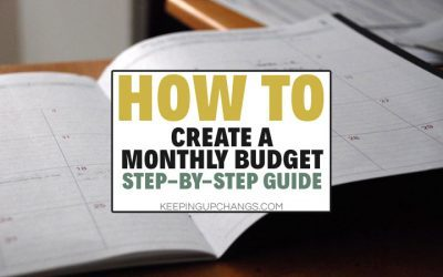 How to Create a Budget: Steps in Budgeting Process