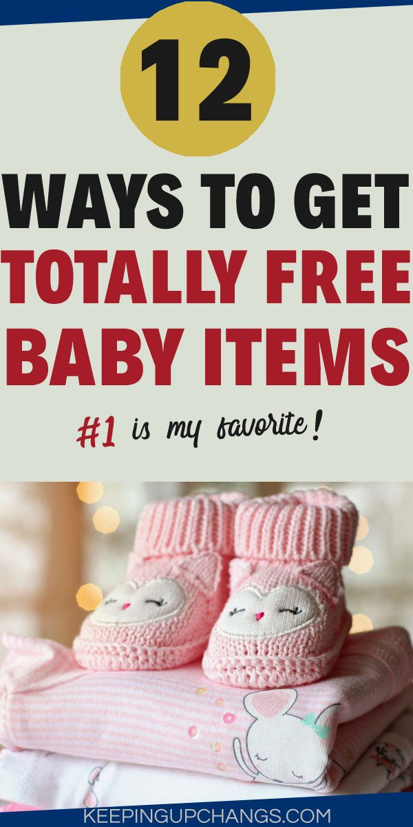 how to get free baby stuff atop baby clothing and shoes
