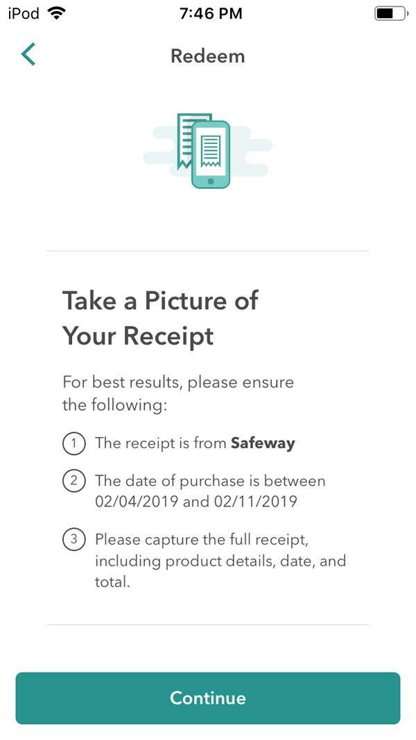 how ibotta works scan receipt