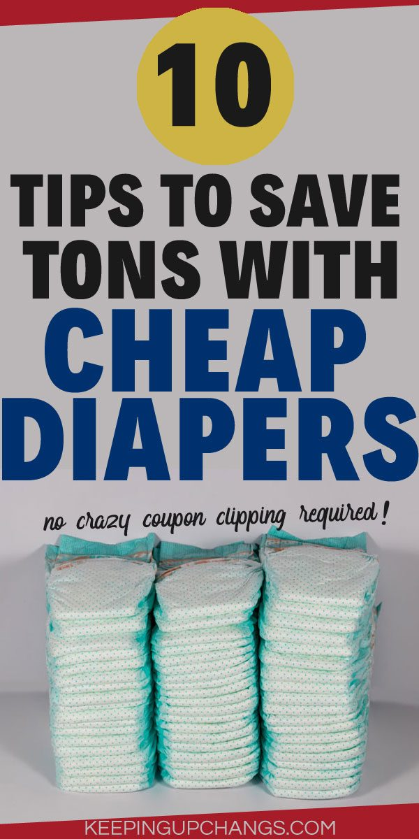 tips to save tons with cheap diapers