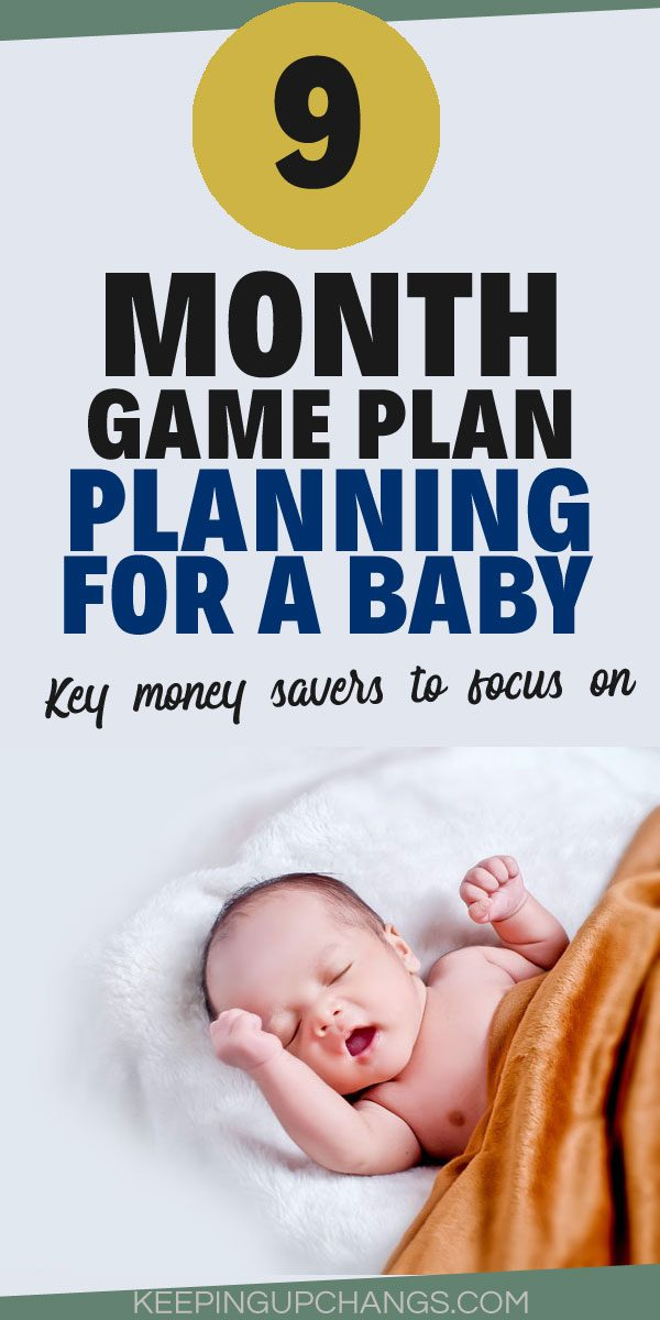 planning for a baby - how to prepare financially