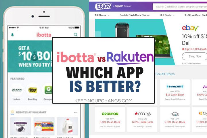 Ibotta vs Rakuten (Ebates): Which Cashback Rebate App is Best?