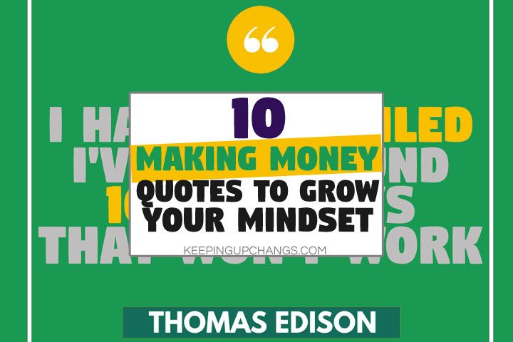 making money quotes to grow your mindset