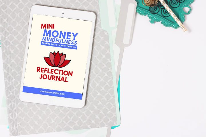 money mindfulness personal finance journal