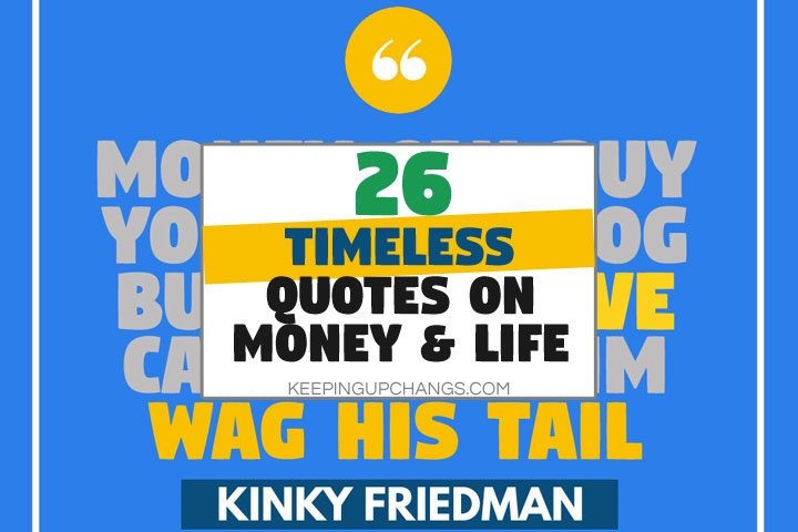 timeless quotes on money and life