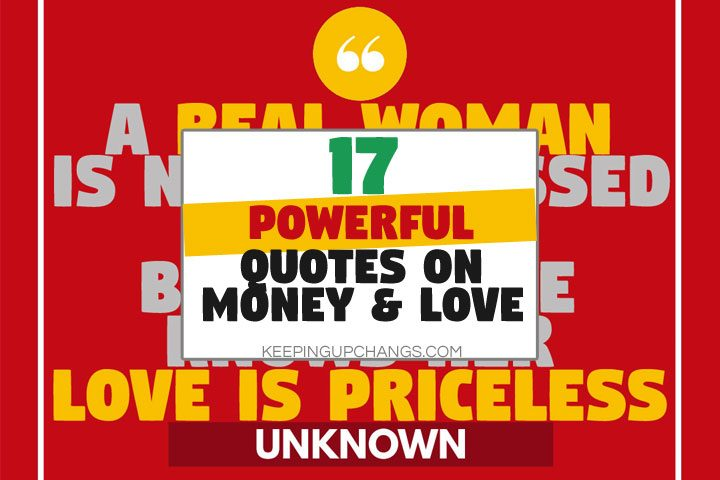 powerful quotes on money and love