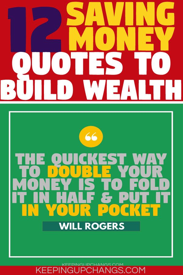 saving money quotes to build wealth