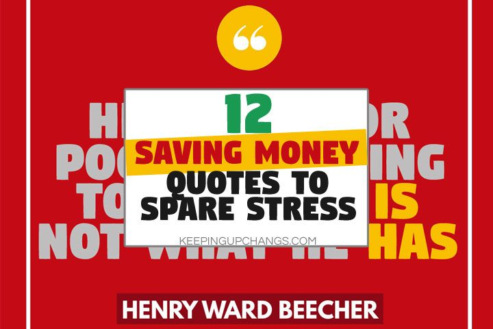 saving money quotes to spare you stress