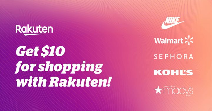 rakuten ebates review - claim $10 welcome bonus