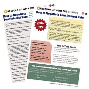 how to negotiate interest rate script and tips