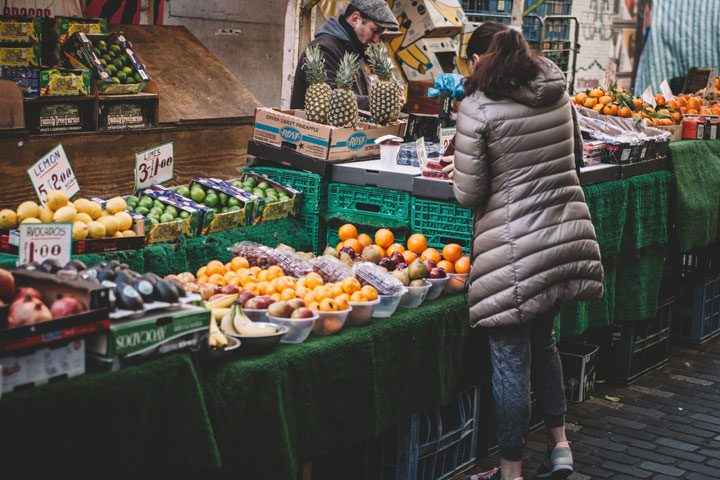 save money on groceries - shop at farmers market and other places outside of supermarket