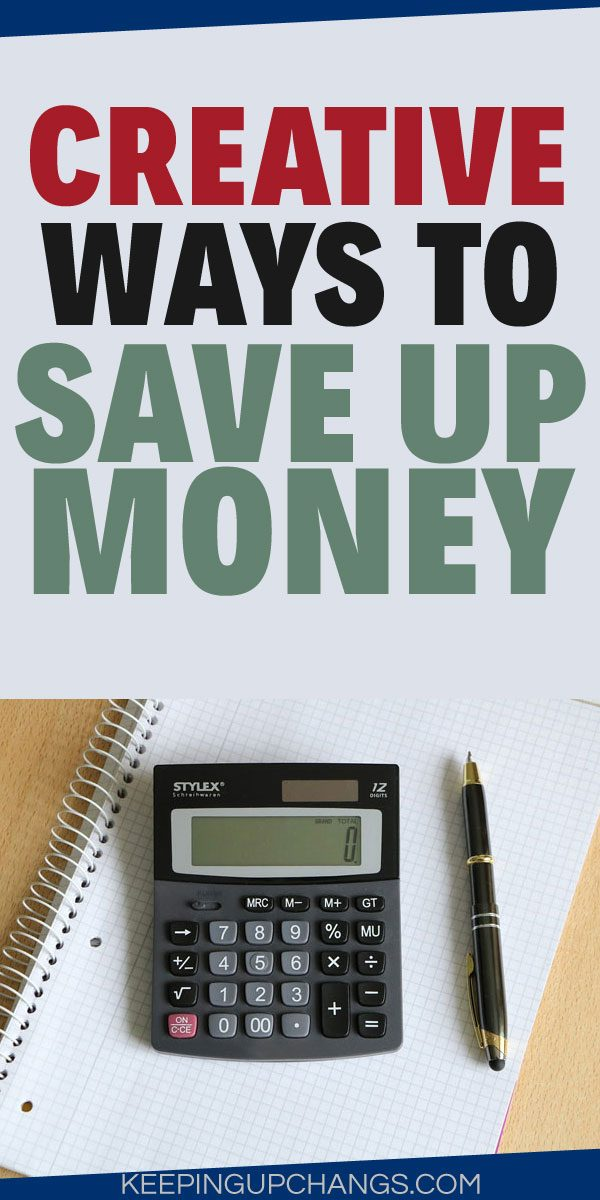creative ways to save up money