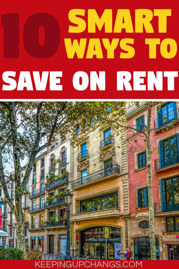 smart ways to save on rent condo apartment