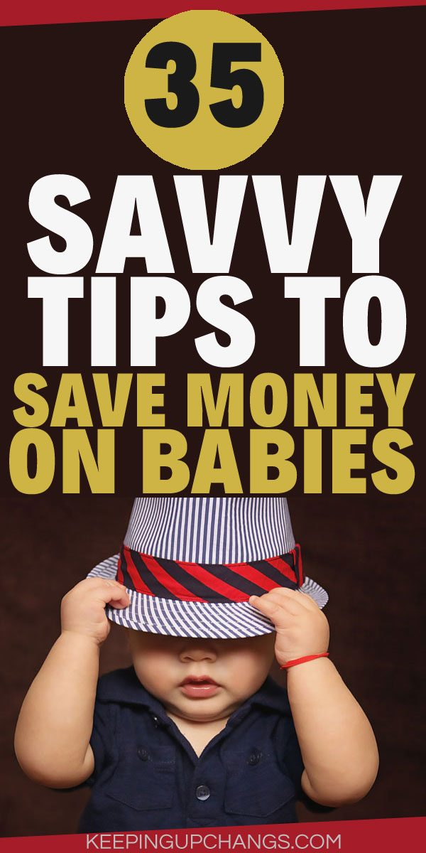 useful ways to save up for baby