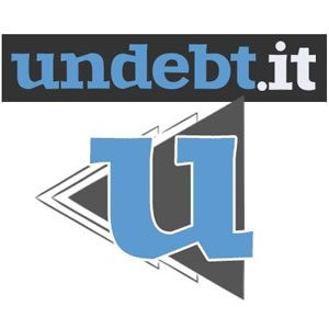 undebt it debt snowball avalanche calculator logo